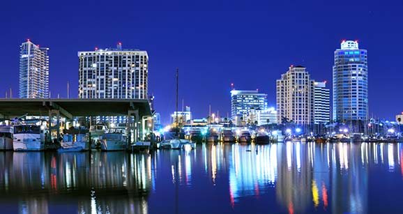 St Petersburg Florida holiday