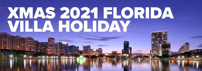 Xmas 2021 Florida villa holiday